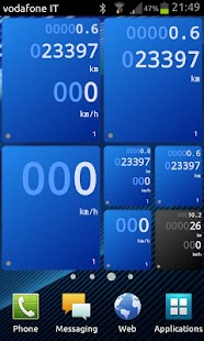 Drivers Widget - Speedometer- screenshot thumbnail