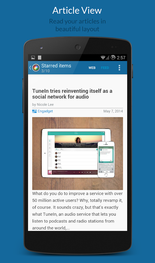 News+ | Google News RSS Reader- スクリーンショット