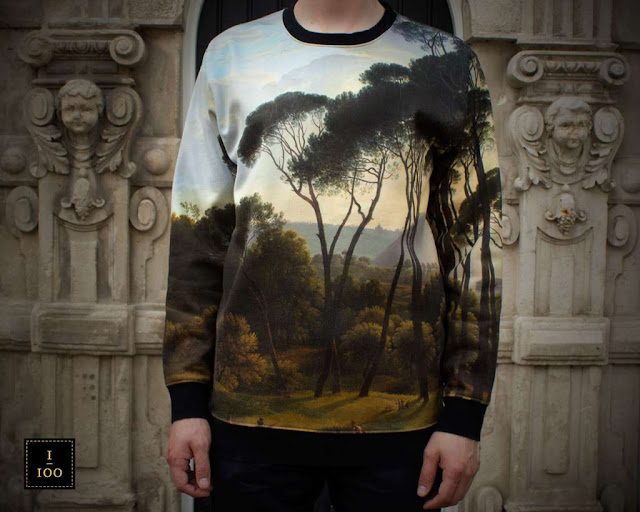 Italian Landscape Sweater from One of Hundred