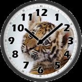 Sweet Tiger Clock