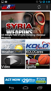 KOLO 8 News Now - screenshot thumbnail