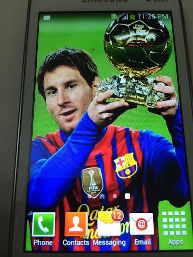 Argentina Fans Live Wallpaper