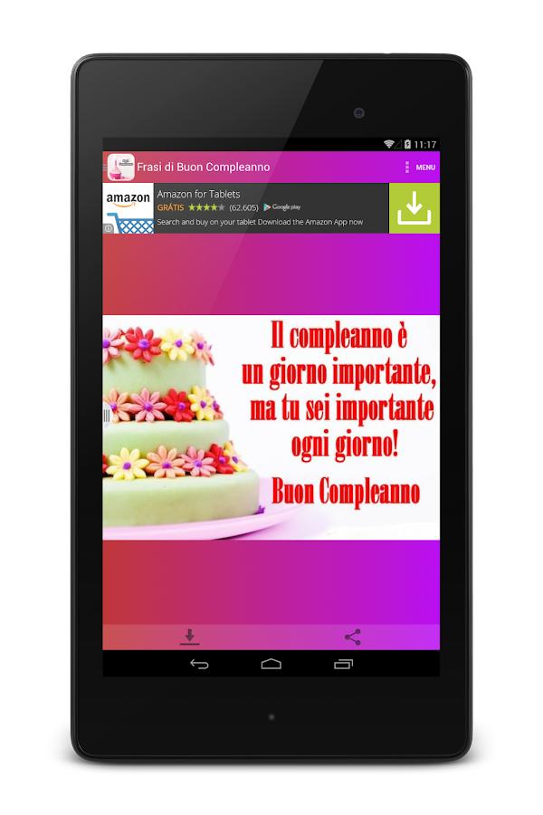 Assez Frasi di Buon Compleanno - Android Apps on Google Play WQ03