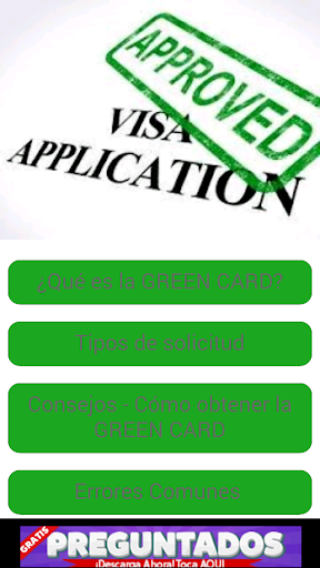 Obtener Green Card USA