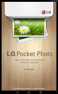 LG Pocket Photo - screenshot thumbnail