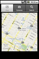 Screenshot of NYC Traffic Cameras