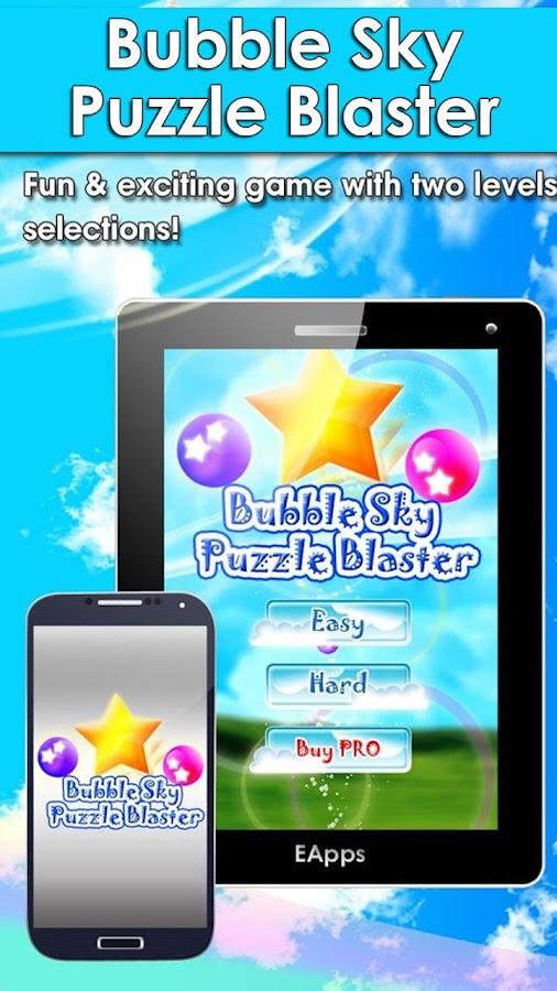 Bubble Sky Blaster - screenshot