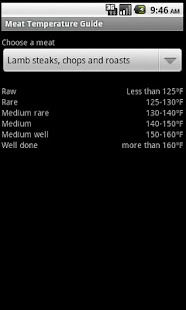 Meat Temperature Guide - screenshot thumbnail