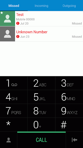 ExDialer Theme - One