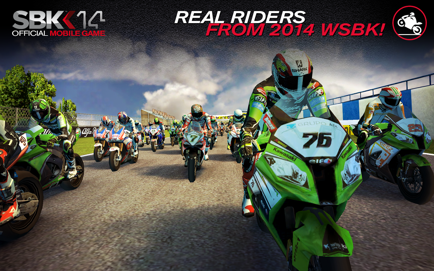 SBK14 Official Mobile Game - screenshot