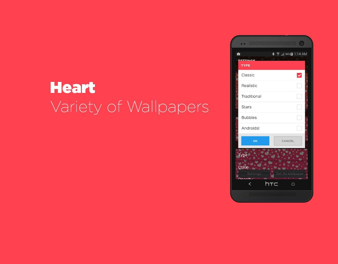 Hearts Live Wallpaper Free- screenshot