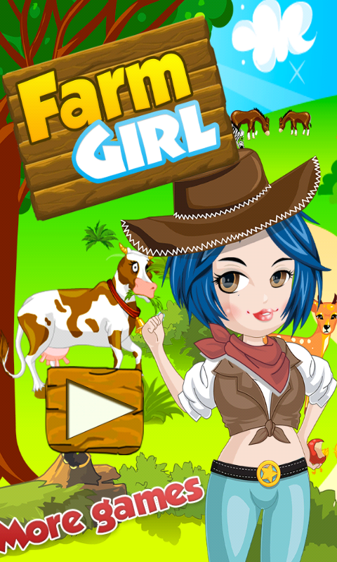 Farmer Girl Dress Up Games- screenshot