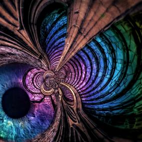 Membrane by Simon Eastop - Digital Art Abstract ( abstract, membrane, fragile, inside, eye )