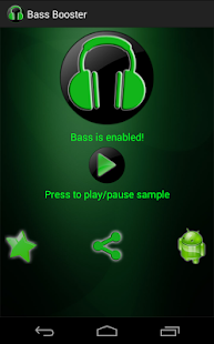 Bass Booster- screenshot thumbnail