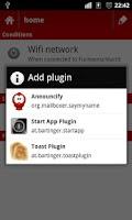 Screenshot of StartApp plugin for Smart Phon