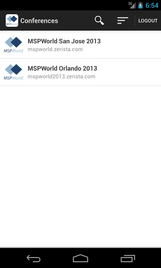 MSPWorld - screenshot