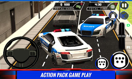 市警车司机辛3D