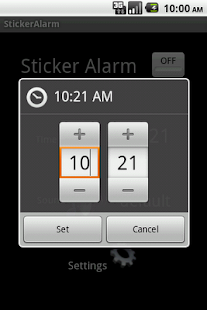 Sticker Alarm Full version - screenshot thumbnail