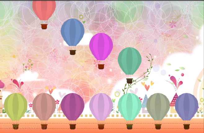 Toddlers Air Balloon- screenshot