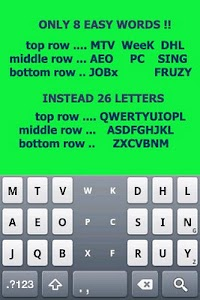Tap Tap KEYBOARD screenshot 0