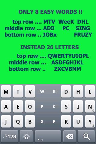 Tap Tap KEYBOARD- screenshot