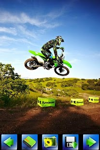 Motorcycle racing wallpaper - screenshot thumbnail