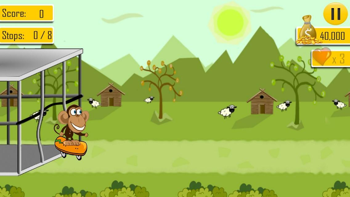Zoo Break: Animal Escape & Run- screenshot