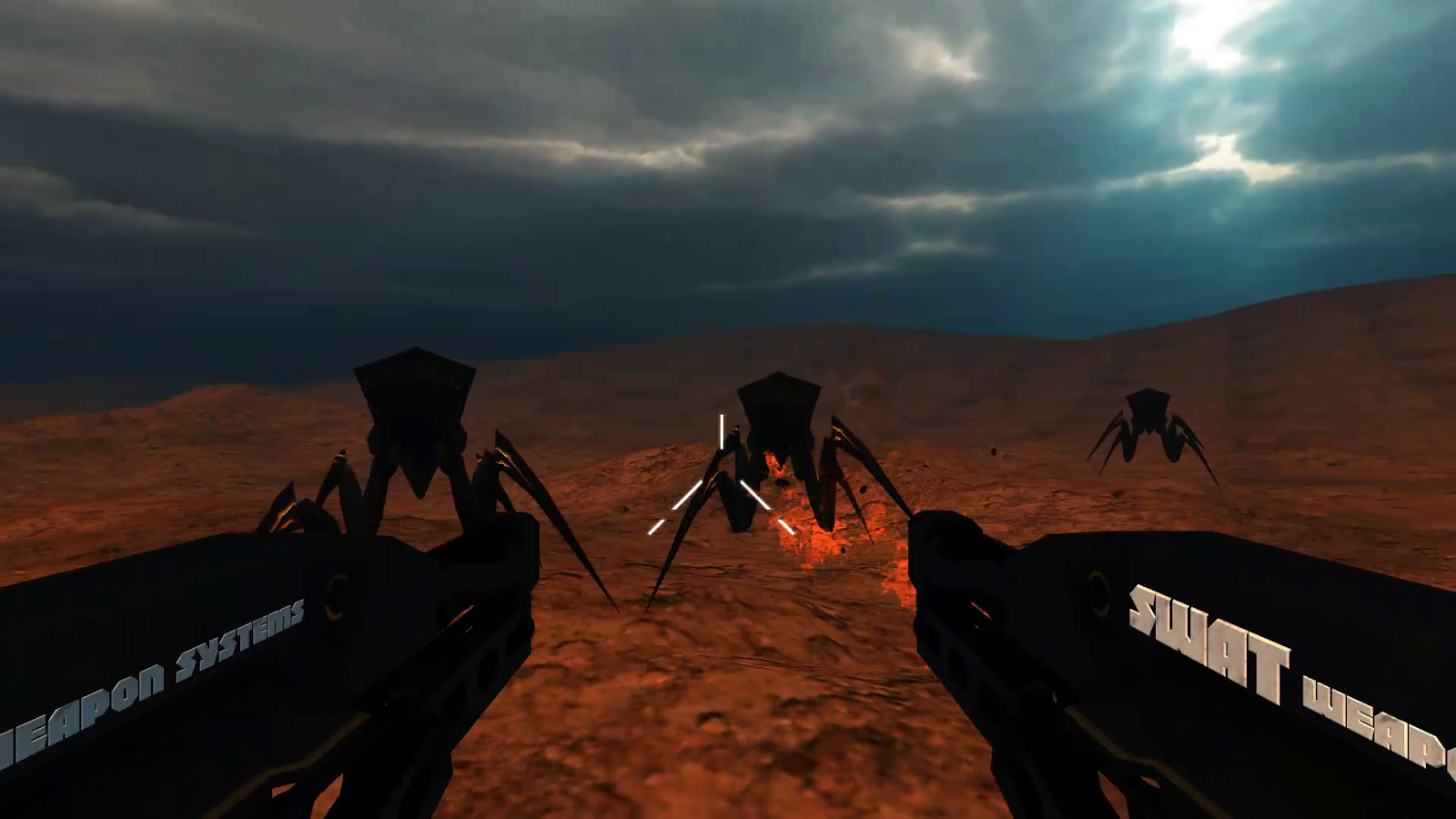 SWAT vs. Aliens VR Cardboard- screenshot