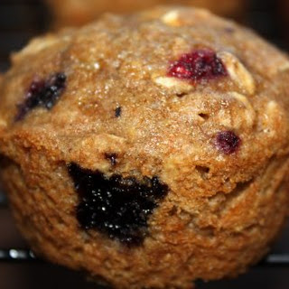 Oatmeal Berry Muffins