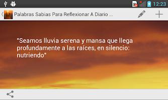 Screenshot of Palabras Sabias