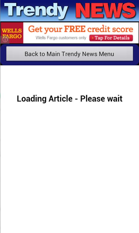 Trendy News- screenshot