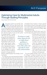 Annals of Long Term Care - screenshot thumbnail