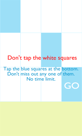 Tap Blue - Piano Tiles 1.5.065 screenshot 206015
