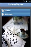Screenshot of Kruiswoord