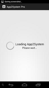 App2System PRO- screenshot thumbnail