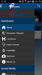 Providence Health System DC - screenshot thumbnail