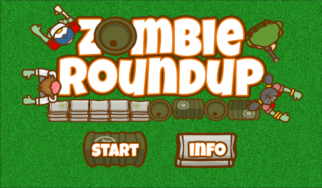 FREE Zombie Roundup Game- screenshot