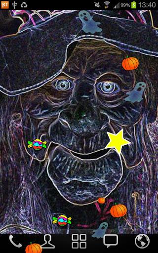 【免費個人化App】Witch Happy Halloween LWP FREE-APP點子