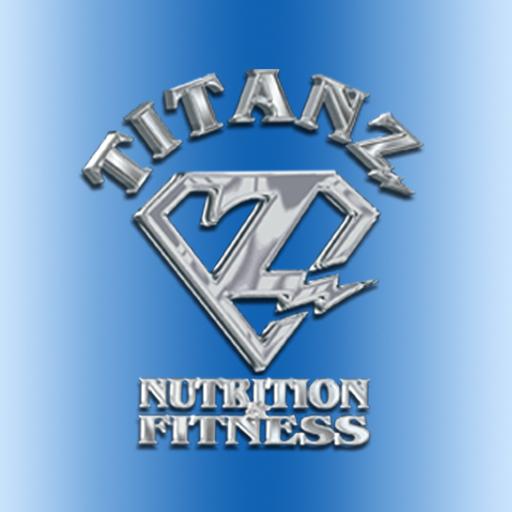 Titanz Fitness & Nutrition LOGO-APP點子