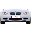 BMW M3 battery widget logo