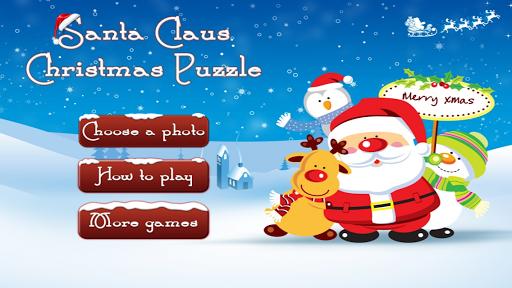 Santa Claus Christmas Puzzle