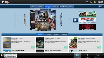 Screenshot of Movies Games Photo iVid Tablet