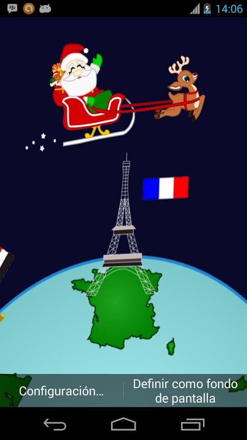 Santa Around the World- screenshot