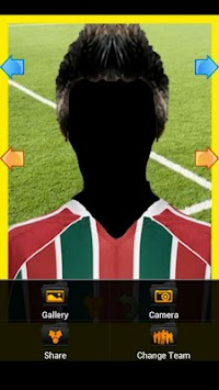 Real Football Player Brazil apk screenshot