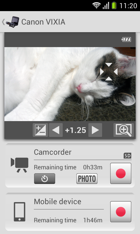 CameraAccess- screenshot