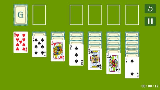 接龍紙牌遊戲