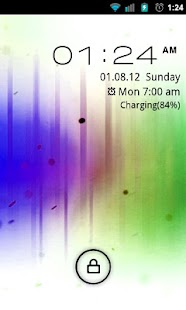 Go Locker Inverted ICS Theme - screenshot thumbnail