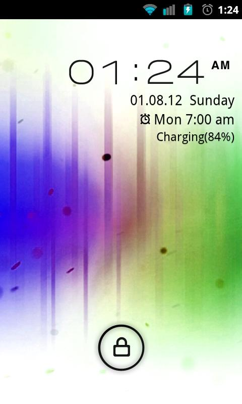 Go Locker Inverted ICS Theme - screenshot