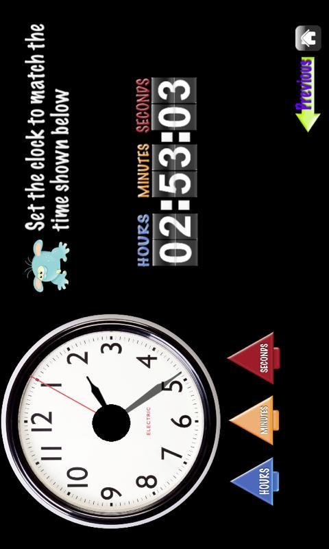 My First Clock Tablet- screenshot