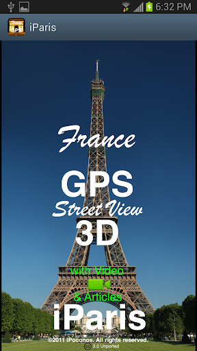 Paris GPS Street View 3D